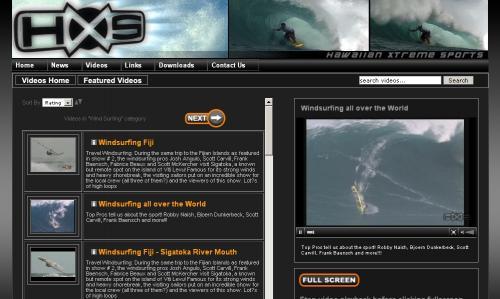 HXS windsurf