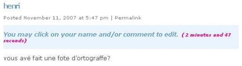 edit comment