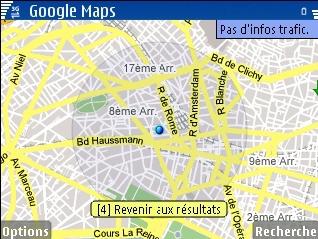 google map mobile gps