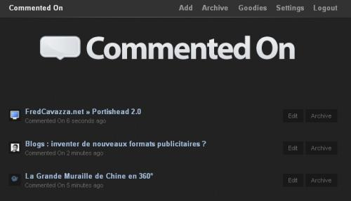 commented on