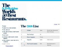 50 meilleurs restaurants au monde