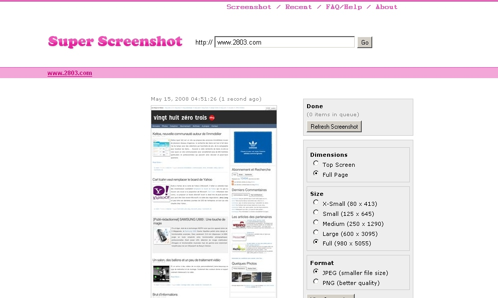 superscreenshot