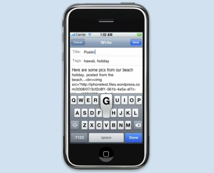 wordpress-iphone