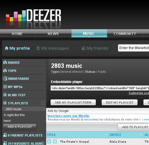 deezer-home