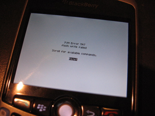 comment demarrer blackberry