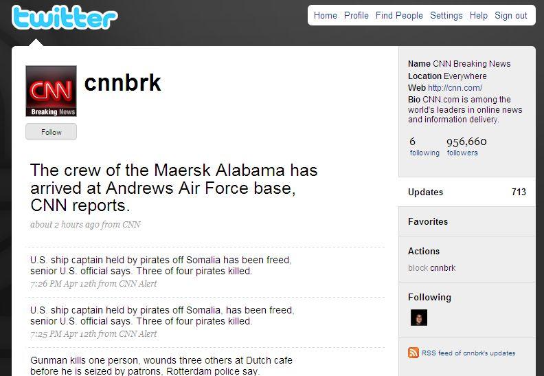 Le compte @cnnbrk
