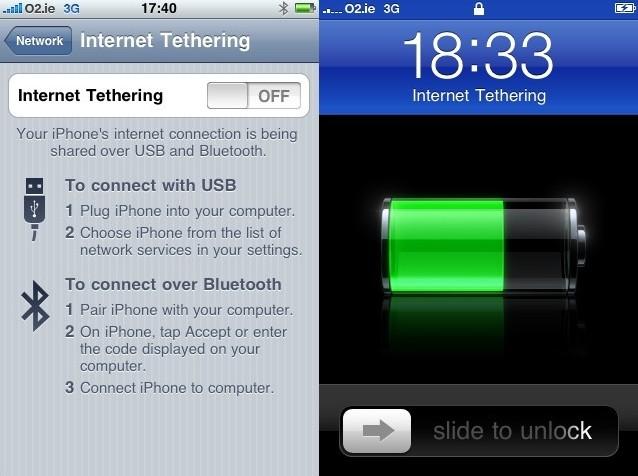 connexion,iphone,partage,pc,mac,modem