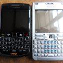Bold 9700 versus Nokia E61