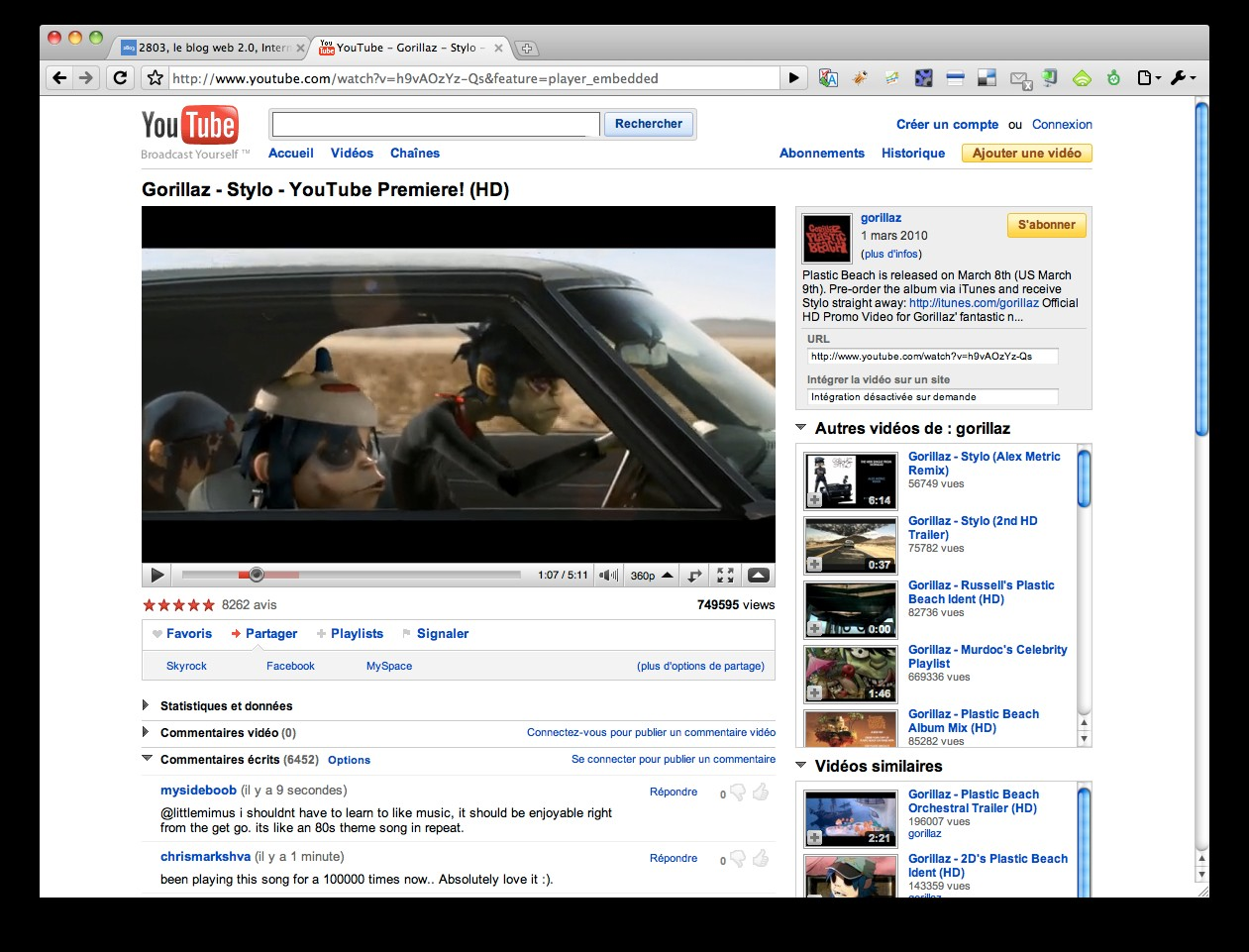 youtube-gorrilaz