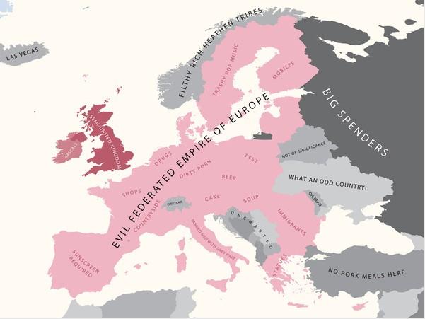 L'Europe pour les anglais