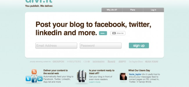 dlvr.it - feed your blog to twitter and