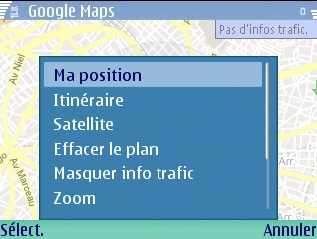 google map mobile gps