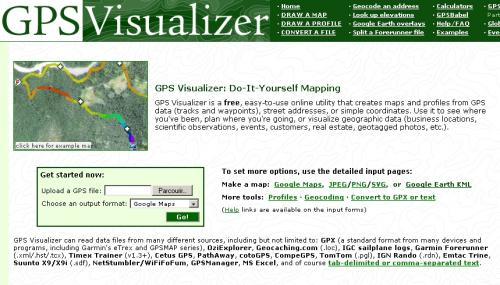 All about Gps Visualizer - r18worker info
