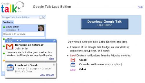 gtalk labs edition
