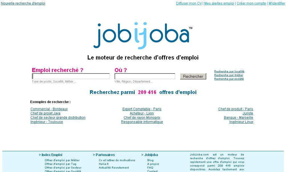 recherche d u0026 39 emploi avec jobijoba