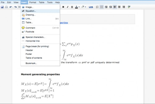 google-docs-equation