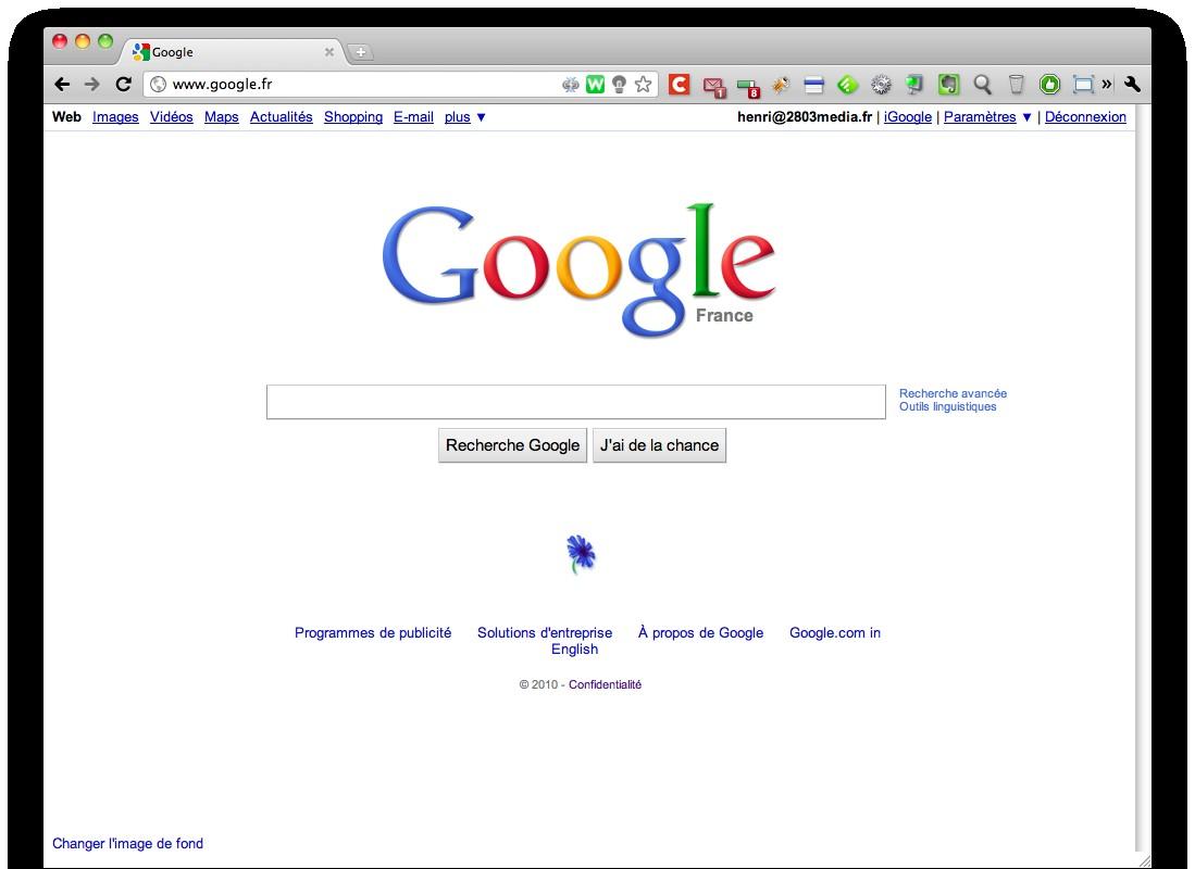 Google fr 2803 le blog web 2 0 internet et technologies - Travailler chez google france ...