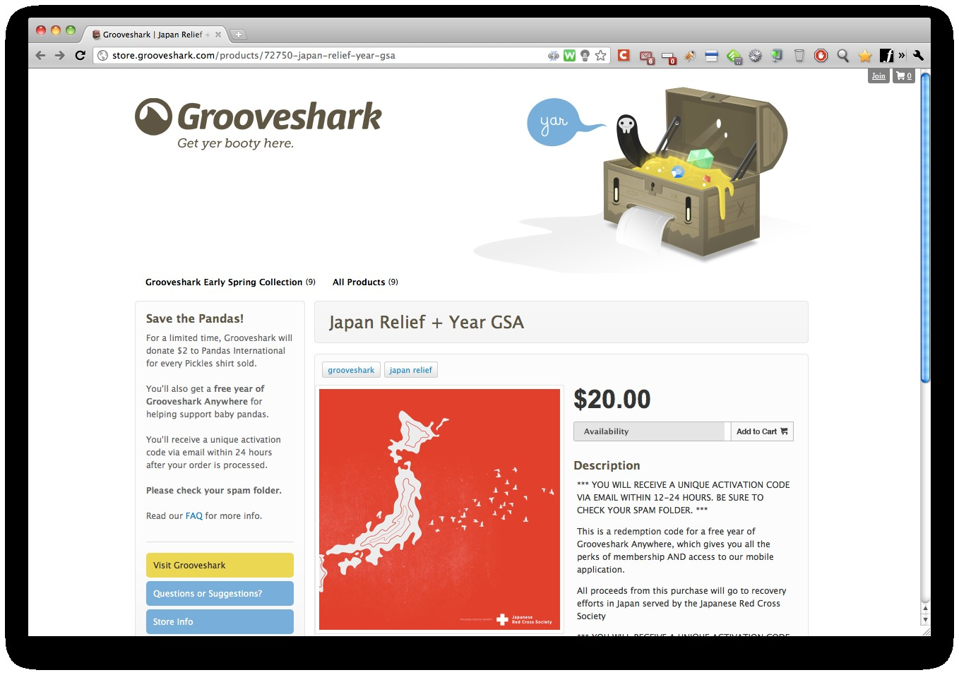 grooveshark japan 2803 le blog web 2 0 internet et technologies. Black Bedroom Furniture Sets. Home Design Ideas